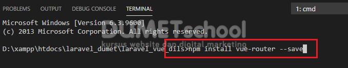 Cara Install Package Vue Router Pada Framework Laravel