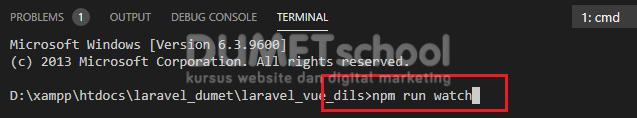 Menjalankan Package Vue Router Pada Framework Laravel