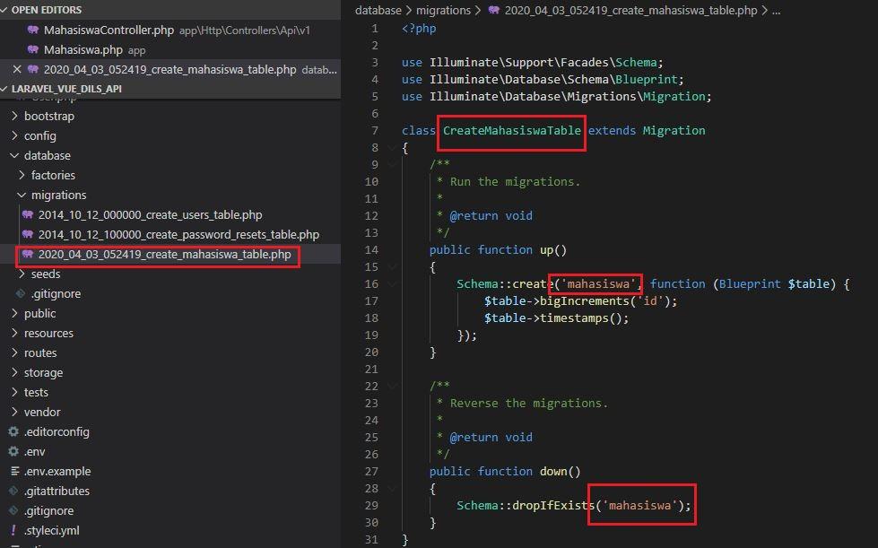 Cara Membuat REST API Menggunakan Laravel dan Vue Part 1