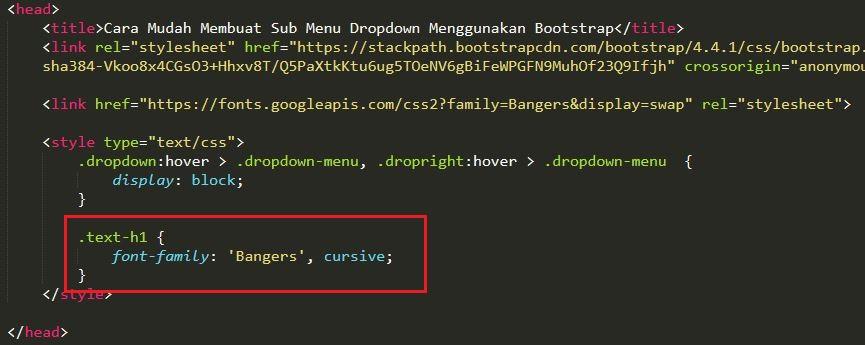 Cara Menggunakan Google Fonts ke Dalam File Project